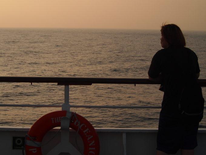 ピースボート乗車時の写真