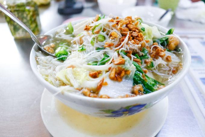 ミャンマーのスープ料理